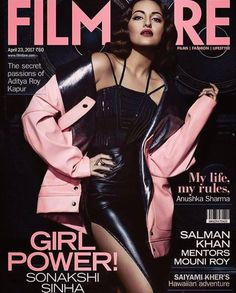 #Noor goes rock and rolla as Cover girl for #Filmfare this month! Fab shoot by a fab team!!! Shot by @colstonjulian, styled by @