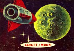 Topps. Space Cards. 1957.