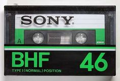 SONY/BHF/パッケージ Casette Tapes, Vhs Cassette, Sony Design, 90s Design, Sony Electronics, Designer Radiator, Audio Equipment, Vinyl Records, Vintage