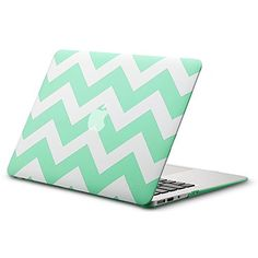 Kuzy - AIR 13-inch Chevron Mint GREEN Rubberized Hard Case for MacBook Air 13.3 (A1466 A1369) (NEWEST VERSION) Shell Cover - Chevron Mint GREEN Kuzy https://www.amazon.com/dp/B00O5J5KQG/ref=cm_sw_r_pi_dp_kB8sub1ZB82RS #ElectronicGadgets