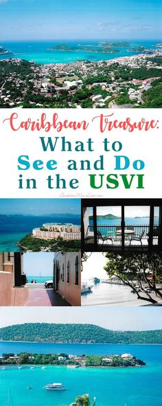 USVI, or the US Virgin Islands, are a group of three major islands located south and east of Puerto Rico. They're one of the best-known destinations in the Caribbean and there's a reason for that! From a laid back nap on the beach, diving, nature, nightli