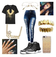 """""""go ing to the party this is what I and going to put on"""" by zzbaby-i ❤ liked on Polyvore featuring True Religion, NIKE and Casetify"""