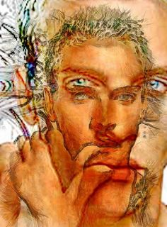 Jonathan Rhys Meyers 2 ----- (I actually love art, and I also really like....Jonathan Rhys!! Nice pic and eye candy! :D