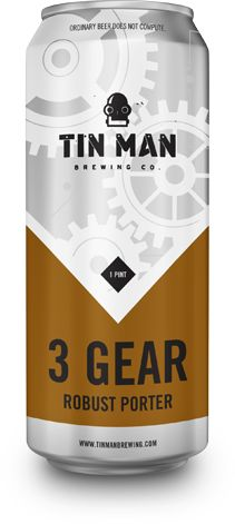New can design for Tin Man Brewing Company. #craftbeer