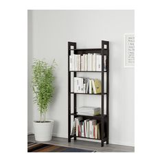 IKEA LAIVA Bookcase - 62x165CM Black-Brown | Livingroom | Urban Sales