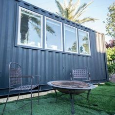 Today's tiny shipping container house is just 20 minutes from Las Vegas! This charming home is listed on Tiny House Listings for a cool $34,999. Peaked...
