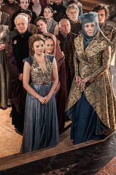olenna with margaery and loras - house-tyrell Photo
