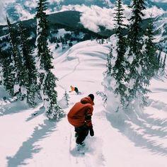 Fallen welding in 3 . - Photography - Winter sports - Fallen welding in 3 … 2 … 1 …. Winter Hiking, Winter Fun, Whistler, Photography Winter, Summer Vacation Spots, Fun Winter Activities, Sports Activities, Vail Colorado, Ski Season