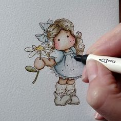Cards By Becky: Distress Ink Marker Tutorial. Great picture tutorial on watercoloring using distress ink markers. The key is to use cold pressed paper, not hot pressed. Copic Pens, Copics, Copic Markers, Distress Markers, Distress Ink, Scrapbook Cards, Scrapbooking, Coloring Books, Coloring Pages