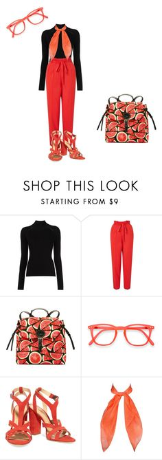 """school"" by mariapizzuto on Polyvore featuring moda, Misha Nonoo, Miss Selfridge, Dooney & Bourke e Schutz"