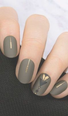 Best Winter Nail Art Ideas, beautiful winter nail designs that will bring the scenic, Cute Nail Art Designs. Everyone wants cute nails Fall Nail Art Designs, Acrylic Nail Designs, Toe Designs, Acrylic Art, Neutral Nail Designs, Easy Designs, Black Nail Designs, Cute Nail Colors, Cute Nails