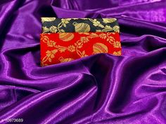 Checkout this latest Sarees Product Name: *Heavy satin silk saree with combo of 2 blouse piece saree for women* Saree Fabric: Satin Silk Blouse: Separate Blouse Piece Blouse Fabric: Banarasi Silk Pattern: Solid Blouse Pattern: Jacquard Multipack: Single Sizes:  Free Size (Saree Length Size: 5.5 m, Blouse Length Size: 0.8 m)  Country of Origin: India Easy Returns Available In Case Of Any Issue   Catalog Rating: ★4 (387)  Catalog Name: Chitrarekha Fabulous Sarees CatalogID_2032590 C74-SC1004 Code: 363-10973689-468