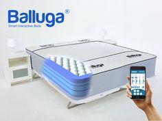 Balluga: Smart Adjustable Mattress with Climate Control, Massage