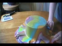 First birthday cake (Dort k 1.narozeninám) - YouTube