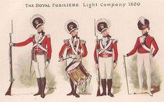 7th Royal Fuzileers Light Company circa 1800