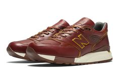 """Photo03 - HORWEEN LEATHER x new balance M998 """"Made in U.S.A"""" を限定発売"""