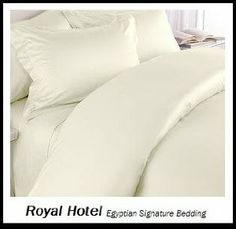 "1Fitted+2pc Pillow with Extra Deep PKT 30/"" Egyptian Cotton 1000 Count Cal-King/"""
