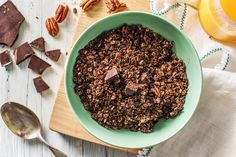 Quick and easy homemade granola recipes Dairy Free Recipes, Dog Food Recipes, Vegan Recipes, Granola Cups Recipe, Healthy Eating Meal Plan, Make Hummus, Just For You, Yummy Food, Homemade