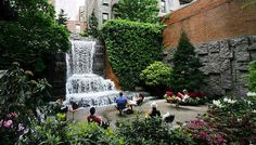 5 hidden parks around NYC via @PureWow.  I used to love eating lunch at this park on East 51st street :)