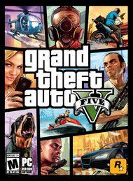 Boxshot: Grand Theft Auto V by Rockstar Games