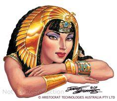 Cleopatra.Bent arms.Szekeres by Jozef-Szekeres.deviantart.com on @deviantART