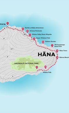 Discover the town of Hana at the tip of Maui and at the end of the Road to Hana. Discover an extraordinary Maui resort vacation experience at Travaasa Hana. Visit Hawaii, Aloha Hawaii, Hawaii Life, Maui Honeymoon, Honeymoon Vacations, Trip To Maui, Hawaii Vacation, Map Of Maui, Vacation Club