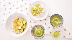 ⭐️Curry veggie de courgettes au lait de coco | Cuisinez pour bébé Zucchini Curry, Coconut Milk Curry, Batch Cooking, Toddler Meals, Palak Paneer, Lentils, Baby Food Recipes, Eggs, Vegetables