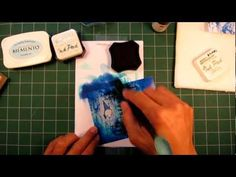 Stampscapes 101:  Video 4 (Introduction to Color Application)