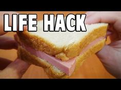 Life Hack You Should Know To Eat Sandwich