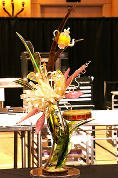 Sugar Showpiece - Amoretti National Pastry Championship 2011 - The Chicago School of Mold Making