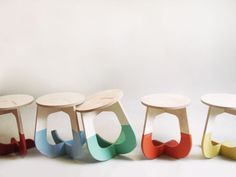 TO SIT (this stool rocks - fabsie ready-to-assemble furniture)