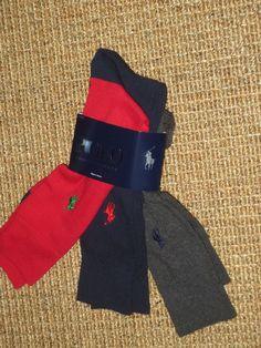 NEW  POLO RALPH LAUREN  MEN'S  DRESS SOCKS   SET OF  3  PAIRS   NWT #PoloRalphLauren #Dress