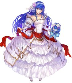 View an image titled 'Taly's Bride Caeda Art' in our Fire Emblem Heroes art gallery featuring official character designs, concept art, and promo pictures. Anime Fantasy, Fantasy Girl, Game Character, Character Design, Shadow Dragon, Fire Emblem Games, Fire Emblem Characters, Irish Art, Anime Artwork