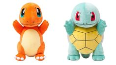 Pokemon Center Plush Doll 20 inches Squirtle Charmander.shopper bag With gifts #PokemonCenter