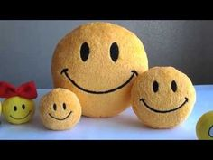 LONG VIDEO LIVE with Smiley FACE pillows and Smiley small  toys  http://www.youtube.com/watch?v=mjmSSBc3ttQ&list=UUSjkwqJrYCUI1TvTQ8ROTmQ (Feel good music)____#smiley #smileyface #smileypillows #smileytoys #smileyfacecushion #smileyfacepillow #geekery #softtoys