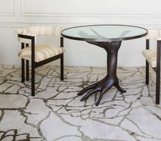 DICHOTOMY BRONZE TABLE - Kelly Wearstler