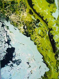 Francie W. Gannon acrylic abstract art
