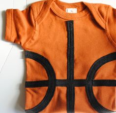 Basketball Onesie!! yes, my child will wear this