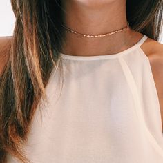 Dainty Beaded Choker                                                                                                                                                     More