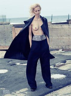 aymeline valade by driu & tiago for rika #11 fall / winter 14.15