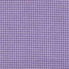 Tissu patchwork STOF country petits carreaux parme et violet
