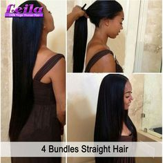 Find More Human Hair Extensions Information about 8A Grade Brazilian Human Hair Straight Cexxy Hair Product Brazilian Straight Vigin Hair 4 Bundles 1B Brazilian Hair Extensions,High Quality brazilian hair extensions,China brazilian straight Suppliers, Cheap hair 4 bundles from Leila Hair Products Co.,Ltd  on Aliexpress.com