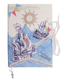 Take a look at this Sea Breeze Notebook by Disaster Designs on today! Disaster Designs, Grey Zip Ups, Lace Ribbon, A Blessing, Sleeping Bag, Toddler Boys, Little Ones, Breeze, Sea