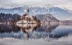 Island of Bled, Slovenia by Klempa  on 500px