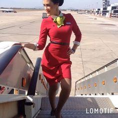 "@alekseeva_konfeta on Instagram: ""#такаяработа 🛫✈️🛬 🤗💚"" Flight Girls, Flight Attendant, Dresses With Sleeves, Long Sleeve, Sexy, Pretty, Beauty, Fashion, Moda"