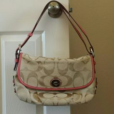 Authentic Coach Purse Gentle used coach purse. Other