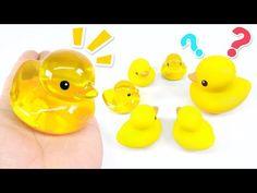 Rubber Duck Jelly Gummy DIY | MonsterKids - YouTube