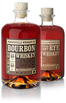 Established in 2010 and with the help of a master distiller from Maker's Mark - the  team at Woodinville Whiskey is off making bourbon and vodka.     Located in Washington state, Woodinville is out to prove that good Bourbon can be made in the pacific northwest.