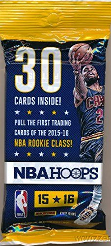 2015/2016+Panini+Hoops+NBA+Basketball+HUGE+FAT+PACK+with+30+Cards+including+4+ROOKIE+Cards+and+3+INSERTS!+Look+for+RC+&+Autographs+of+Karl-Anthony+Towns,+Jahlil+Okafor,+D'Angelo+Russell+&+Many+More+!