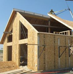 Home addition, house addition, room addition in Lincoln, NE: Addition Framing. Building Design, Building A House, Building Homes, Sip House, Sips Panels, Roof Panels, Building An Addition, Family Room Addition, Structural Insulated Panels